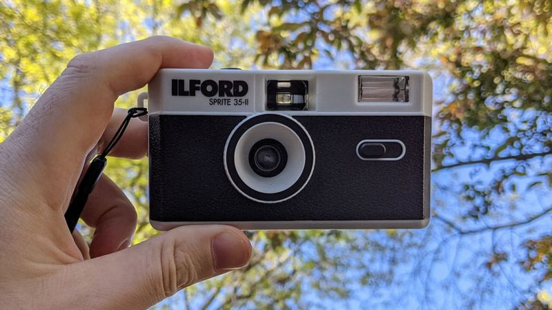 The ilford Sprite 35-II is the camera for summer 2021
